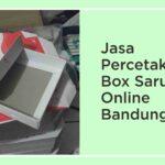 Jasa Percetakan Box Sarung Online Bandung